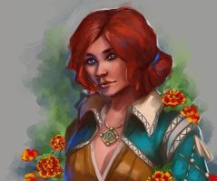 Triss Merigold of Maribor by stunsail
