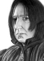 Severus Snape- BEWARE SPOILERS by Empress-of-Time