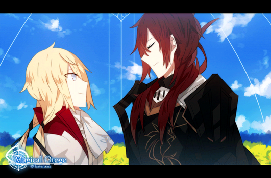 Magical Otoge Animation: For Anton by batensan