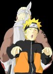 Naruto and Bee by TheFresco