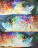 Colorful Fishes by MementoViola