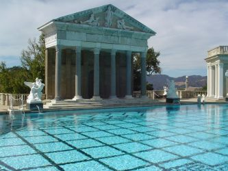 Hearst Castle Pool 2 by StockWolfwood