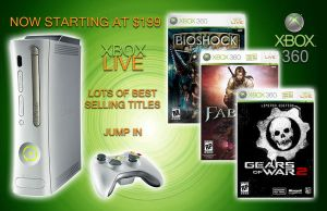 Xbox 360 Full Page Magazine Ad by BrittanysDesigns