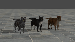 GTAV cats for XNAlara/XPS by ParametricEQ