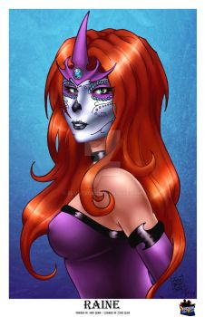 Day of the Dead Raine by Elvatron