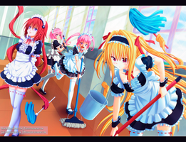 To Love Ru Darkness  Collab by Dhako889