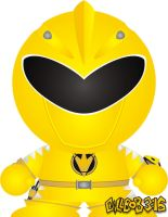 Dino Thunder - Yellow by Gillbob316
