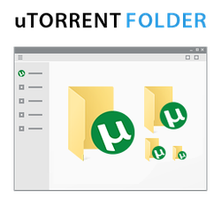 uTorrent Folder Icon Windows 10 by Smallvillerus