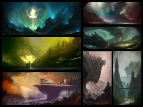 Environment sketches 4 by pav327
