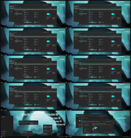 Dark Cyan Alpha Theme Win10 April 2018 Update by Cleodesktop