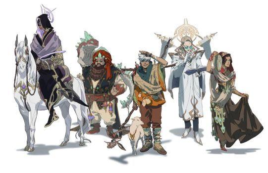 The Alchemist Characters by judahl