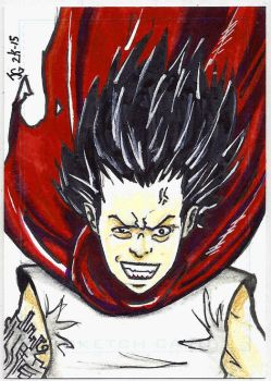 Tetsuo Shima - Sketch Card by Ratcrack