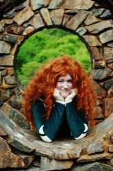 Princess Merida by Checker-Bee