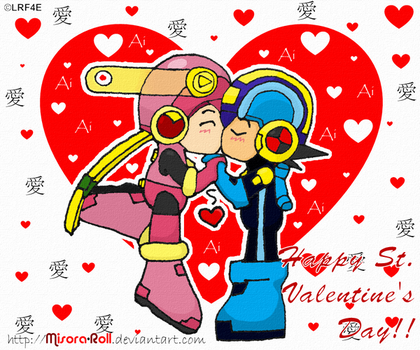 Happy Valentines Day Rock Roll by Misora-Roll