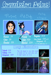 Commission Price Sheet (COMMISSIONS OPEN!) by Blabbercat