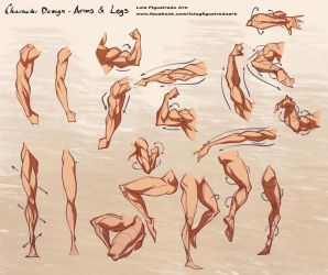 Workshop session Arms and Legs by marvelmania