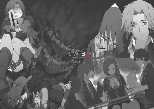 RWBY 3.0 - Short story cover by dishwasher1910