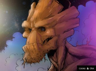 Groot by scroll142