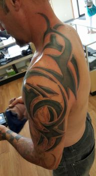 Tribal touch up by upperdecker