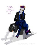 Eridan x sollux submissive by TimelessHeaven