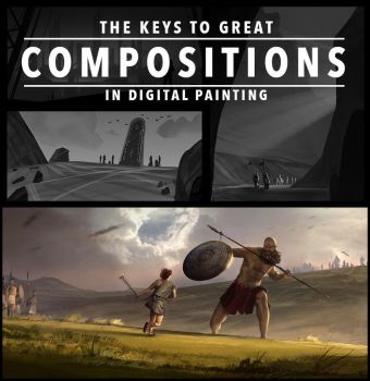 The Keys To Great Compositions In Digital Painting by SoldatNordsken