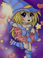 Dark Magician Girl by Emily-Draws-Things