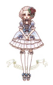 Rococo Lolita by milky-toothy