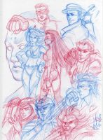 EC: Group Sketch by peannlui