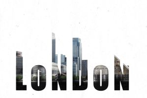 London Double Exposure by BrouhahaBazaar
