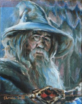 Gandalf Greyhame by Firiel-Archer