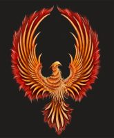 phoenix logo - commission by Nith47