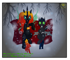 Flik and Savis Chrismas Night by Lakword