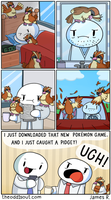Pidgey Problem by theodd1soutcomic
