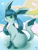 glaceon by aquatica-monster