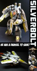 TFA Beast Wars Silverbolt by Gizmo-Tracer