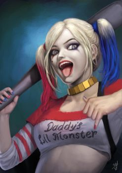 Harley quinn by YaeGraam