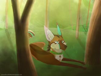 Forest by AzureTheCat808