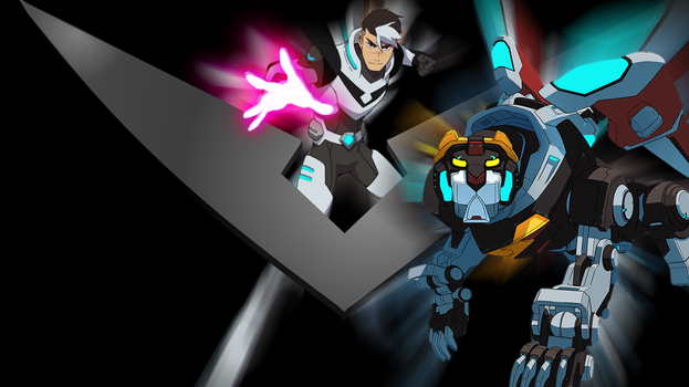 Voltron Team Black by falconfliesalone