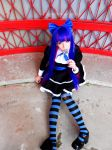 PANTY AND STOCKING WITH GATERBELT: heaven can wait by aibashi