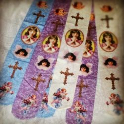 Prayer Tights by OphanimGothique