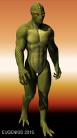 Reptilian Being (1800x3200) by Eugenius330