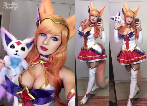 Star Guardian Ahri - League of Legends by Kinpatsu-Cosplay