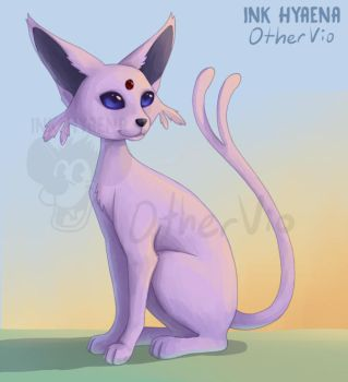 Collab: Espeon by OtherVio