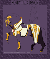 A2738 FHS's Arsenal Magus Dragon Tack by Moose-On-Ice