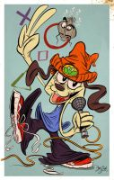 Parappa The Rappa by Themrock