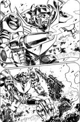 PREVIEW -- IDW Transformers RID 31 page 1 of 4 by GuidoGuidi