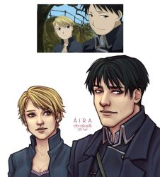 Roy and Riza - screenshot 3 by Elena-Barilli