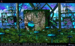 South Aquineon Jungles-Abandon CPU Network Station by Unialien