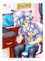 Coloring: 'BB: Father and Son' by almyki