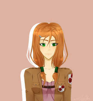 Attack on titan~Emma Weatherstone by sak0fpotatoes